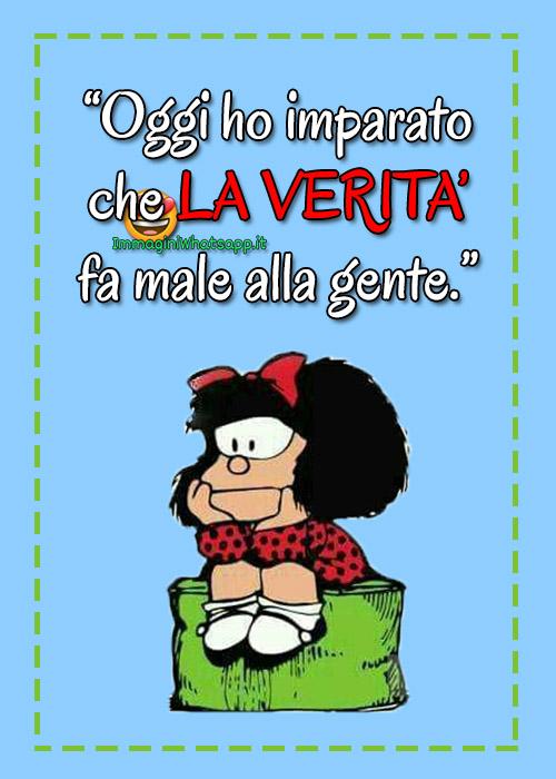 Bellissime immagini con frasi di Mafalda