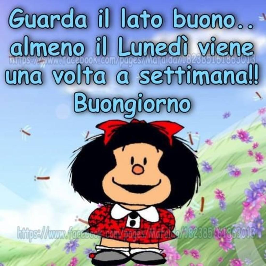 Buon Lunedì Mafalda Immaginiwhatsapp It