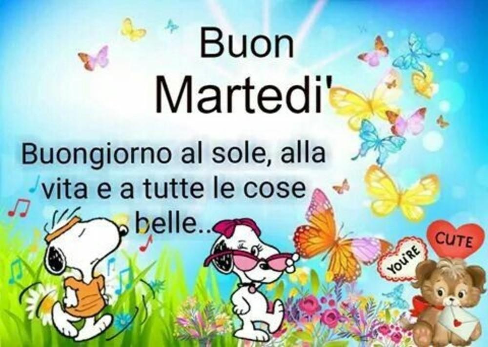 Buon Martedì A Tutti Gli Amici Immaginiwhatsapp It