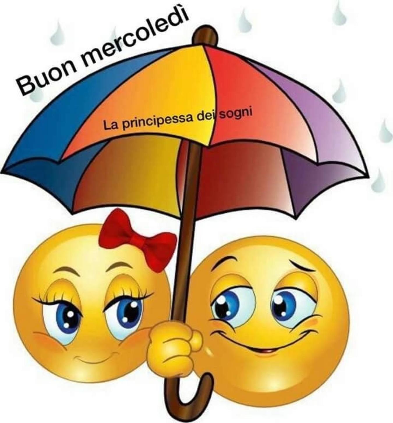 Buon Mercoledì Con La Pioggia Immaginiwhatsappit