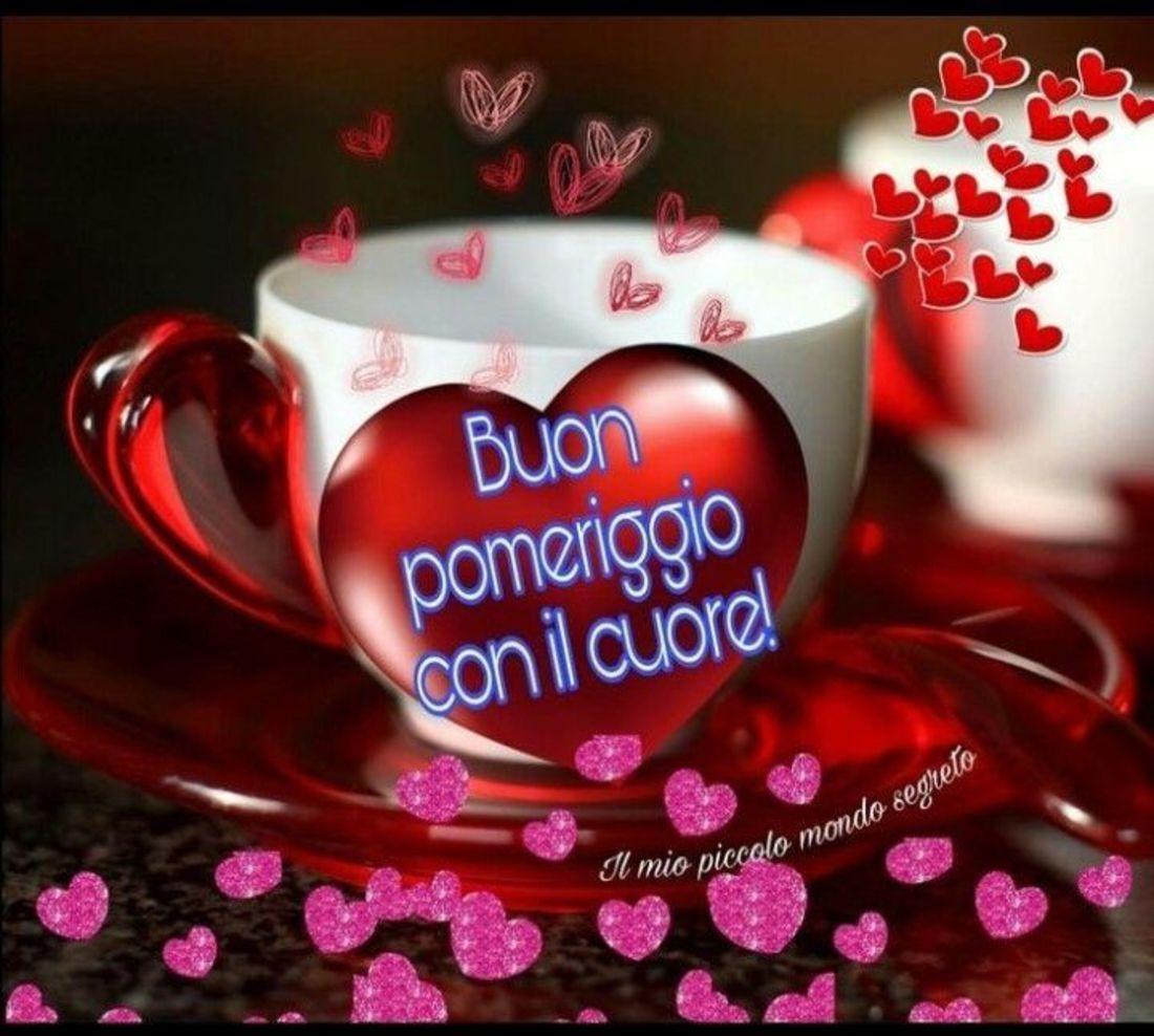Buon pomeriggio con il cuore for Il mio piccolo mondo segreto buongiorno