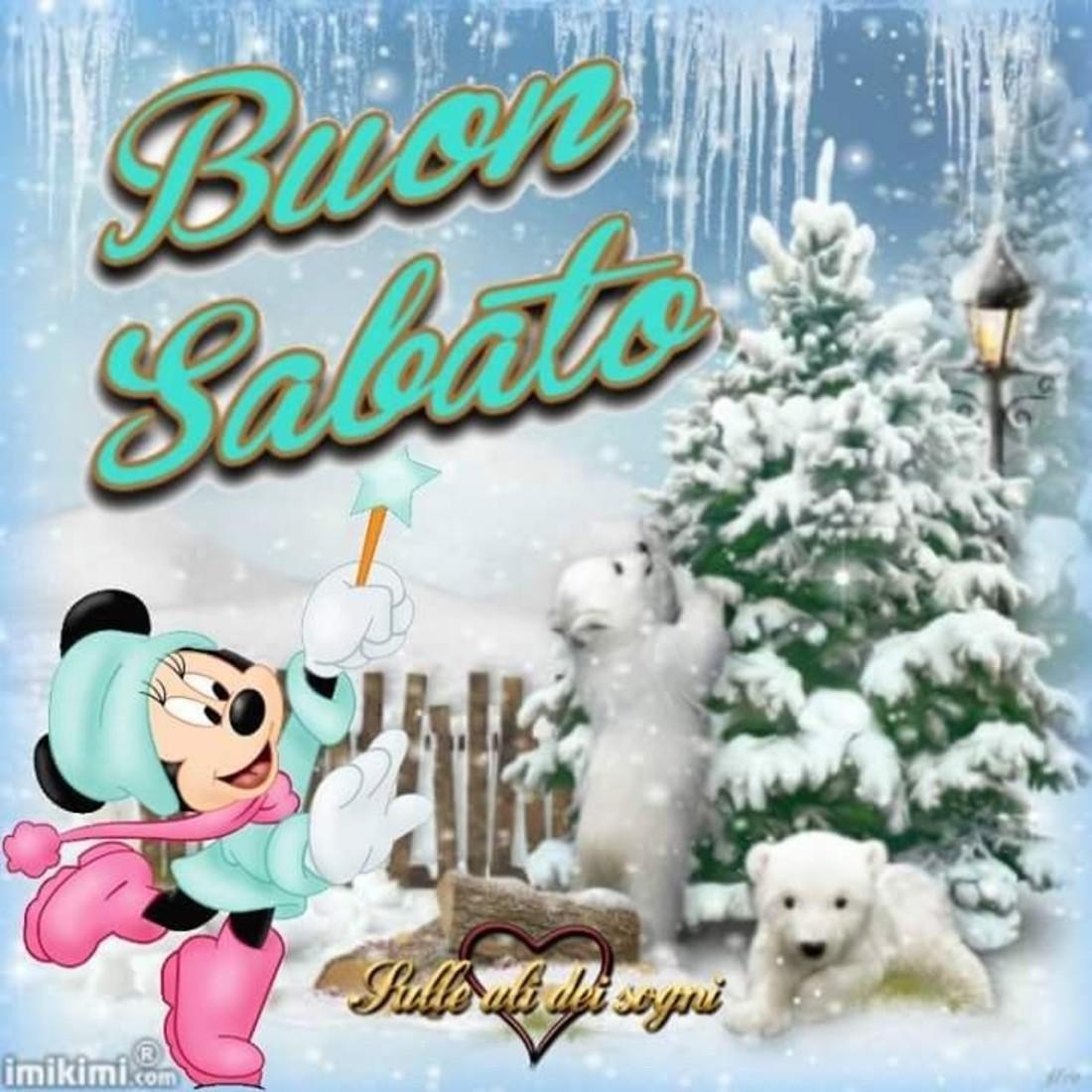 Foto Buongiorno Con La Neve.Buon Sabato Neve Immaginiwhatsapp It