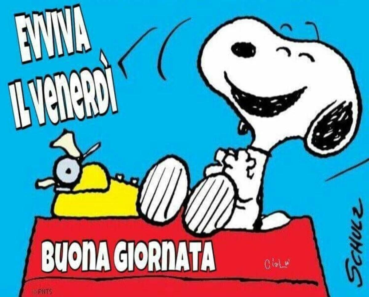 Buon Venerdì Snoopy 2