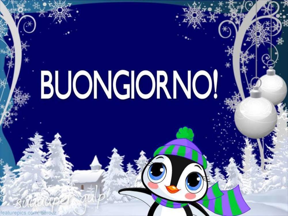 Foto Buongiorno Con La Neve.Buongiorno Con La Neve Immaginiwhatsapp It