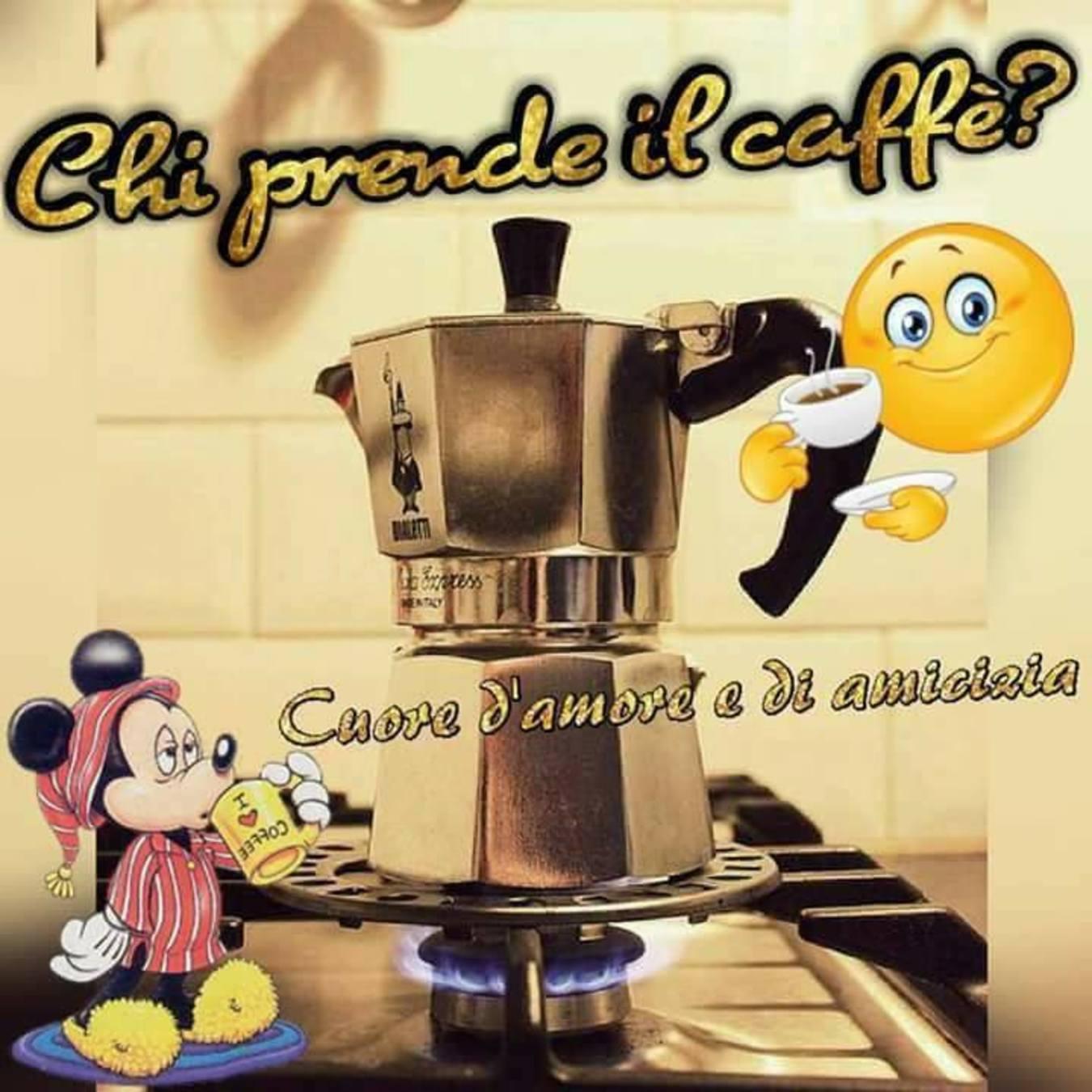 Chi prende il caffè immagini bellissime