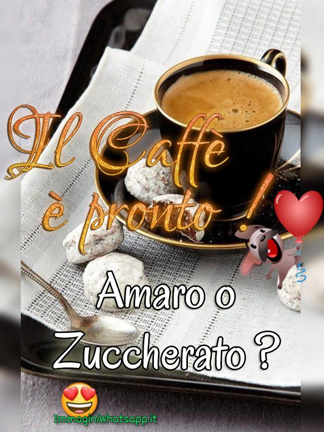 Il caffè è pronto immagini per Facebook