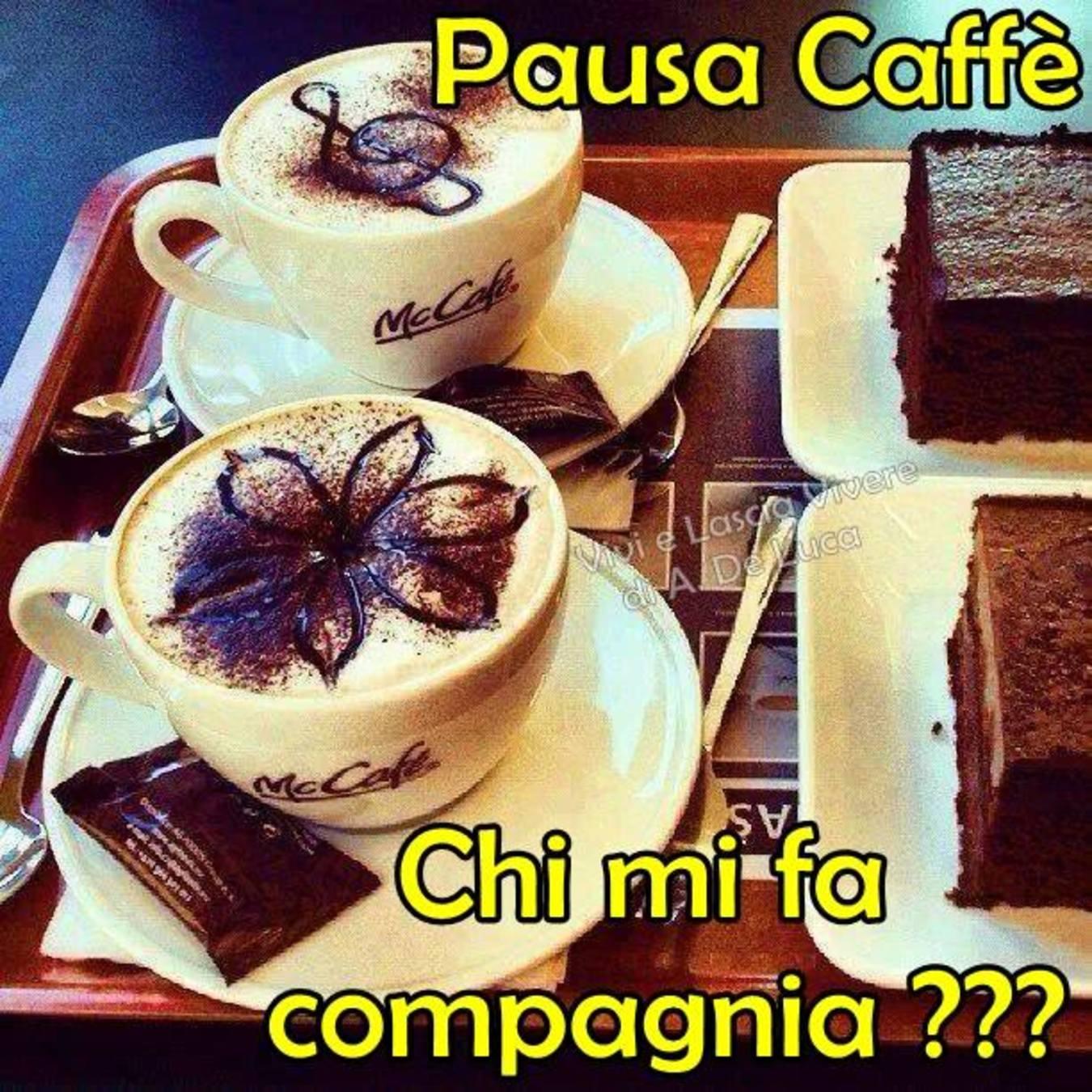 Immagini bellissime pausa caffè
