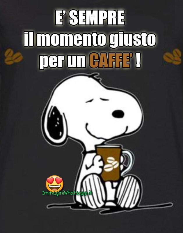 Immagini Con Frasi Snoopy E Il Caffè Immaginiwhatsapp It