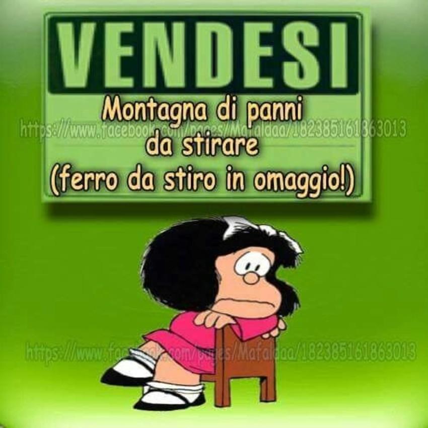 Immagini divertenti con Mafalda 10 - ImmaginiWhatsapp.it