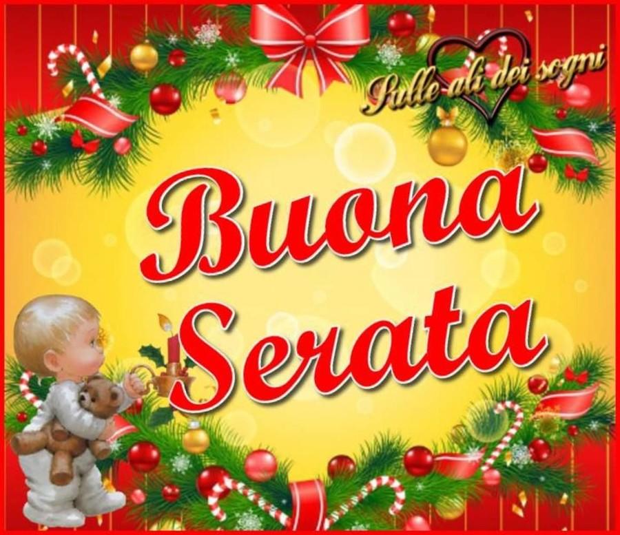 Immagini natalizie Buona Serata