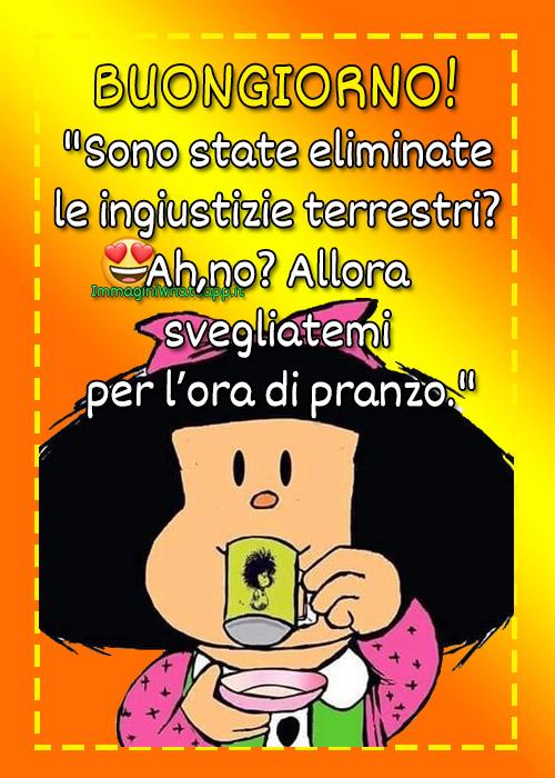 Mafalda Buongiorno immagini con frasi