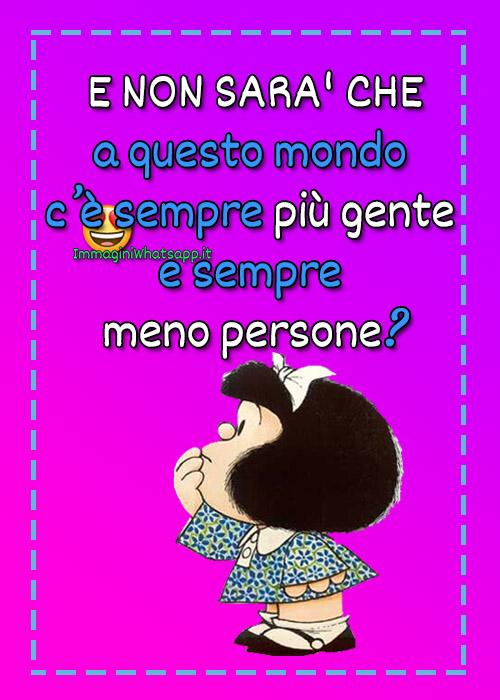 Perle di saggetta di mafalda per WhatsApp