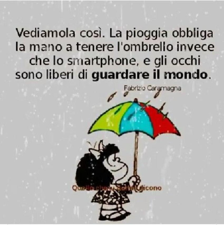 Vignette Divertenti Con Mafalda Con La Pioggia