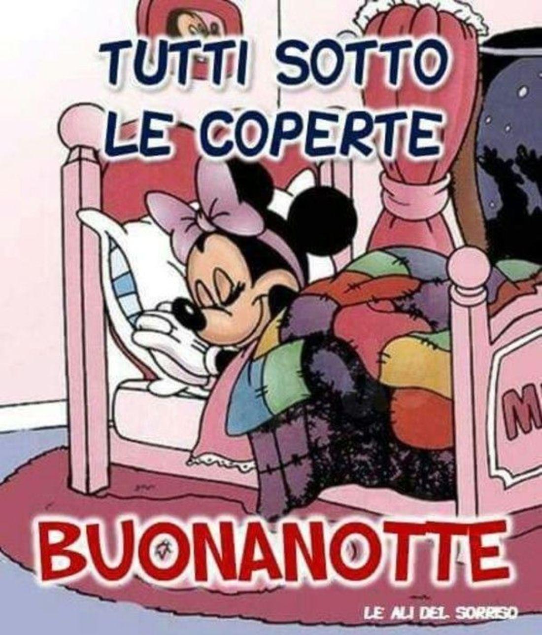 Tutti sotto le coperte Buonanotte