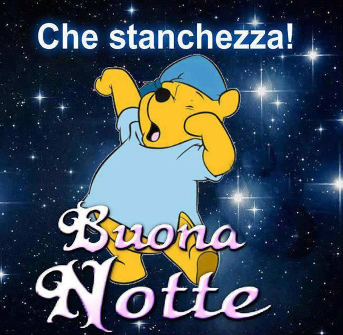 Winnie The Pooh Buonanotte