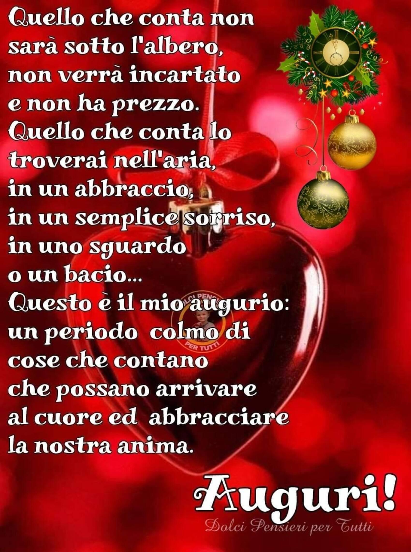 Auguri Buon Natale frasi nuovissime