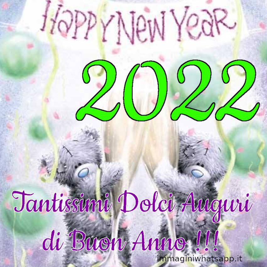 Tanti Auguri Buon Anno 2022